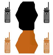 Digitální rádiové sítě - simplexní provoz
